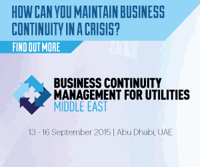 Business Continuity Middle East - Abu Dhabi - September 13-16