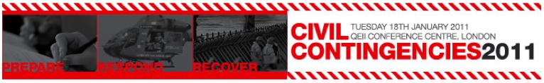 Civil Contingencies 2011 - Continuity Forum Partner Event