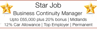 Phoenix Group | Star Job | Business Continuity Manager