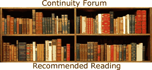 Continuity Forum Book store - Our Recommended books