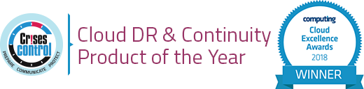Cloud DR and Continuity Product of the year - 2018