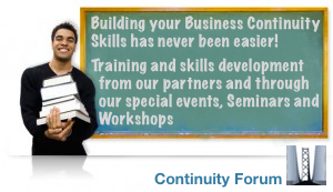 Business Continuity Forum Events, Training and Professional Development