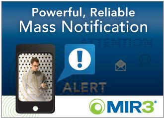 Mass Notification from MIR3
