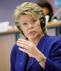 Viviane Reding, EU Vice President Justice
