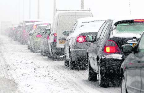 Snow causes massive disruption across the UK