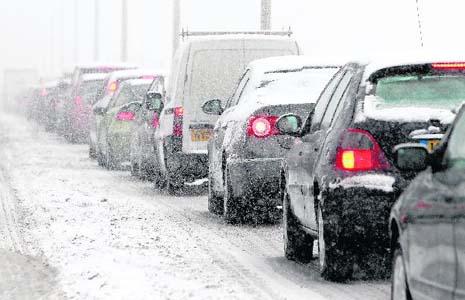 Snow causes massive disruption across the UK